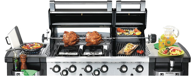 Fully Loaded Broil King Imperial XL Gas Barbecue
