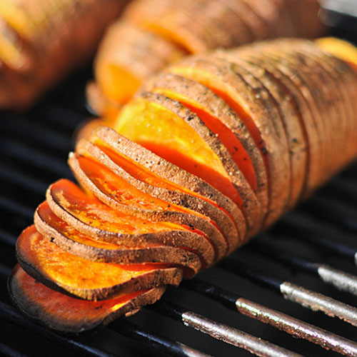 Grill Roasted Sweet Potatoes with Grand Marnier Butter | BarbecueGeeks
